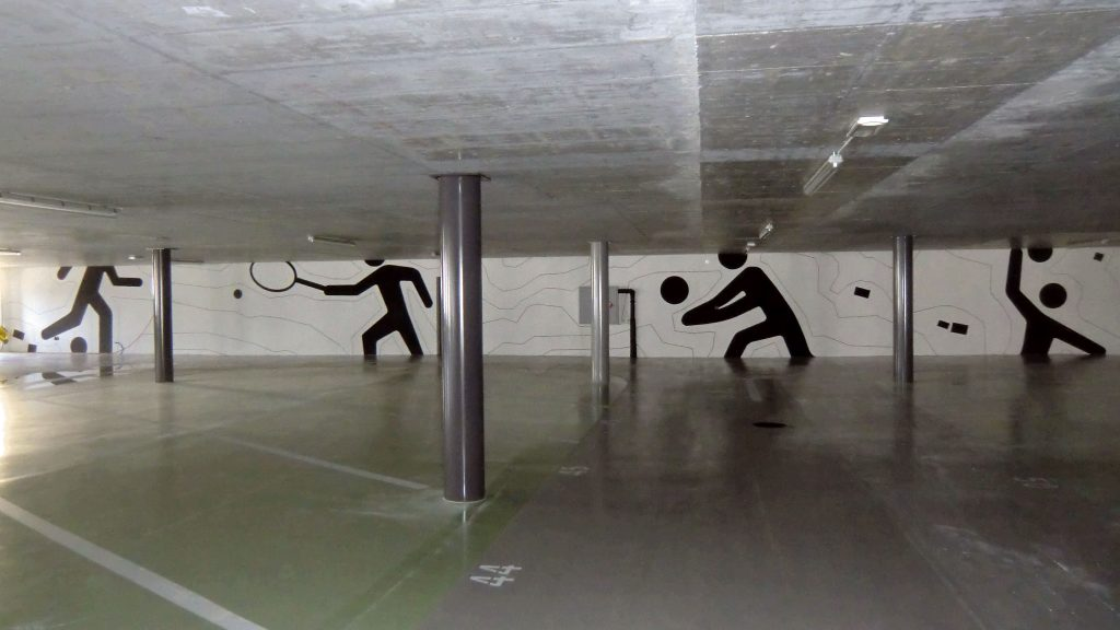 Design Parking Omnisport - Château d'Oex